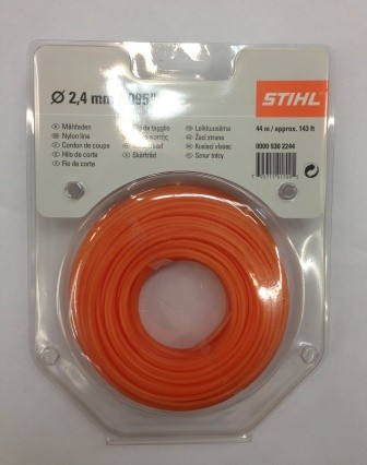 Fir nylon rotund 2.4mm x 44m Stihl