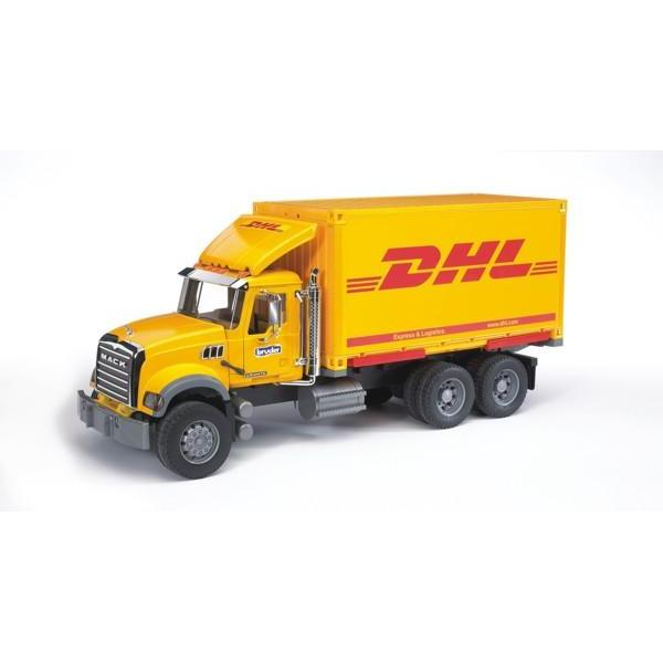 Camion Mack cu container DHL