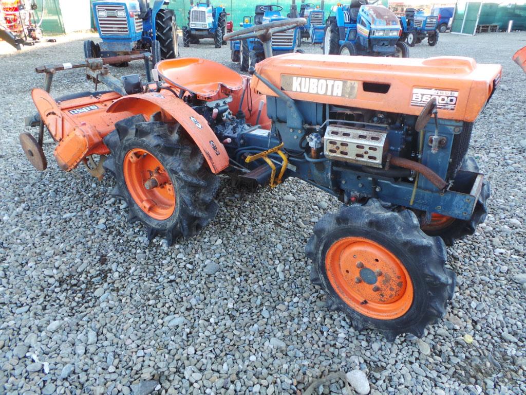 Tractor Second Hand KUBOTA B6000, 12 CP, 4x4