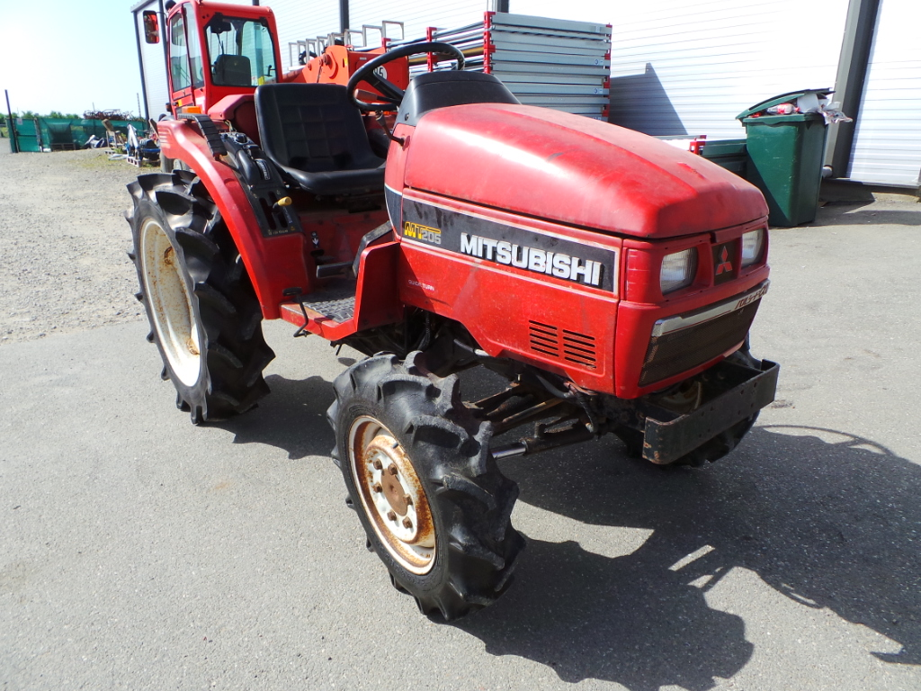 Tractor Second Hand Mitsubishi MT 205 DT, 20 CP, 4x4