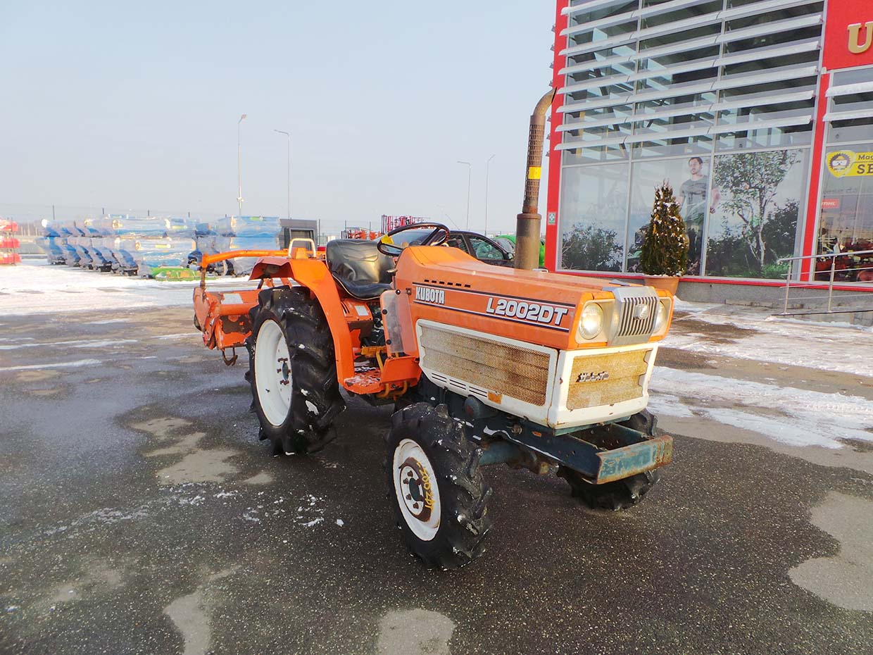 Tractor Second Hand KUBOTA L2002 DT, 20 CP 4x4