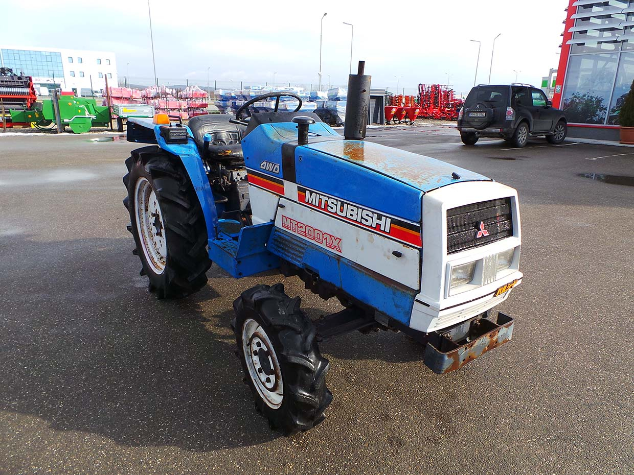 Tractor Second Hand MITSUBISHI MT 2001 DX, 20 CP 4x4