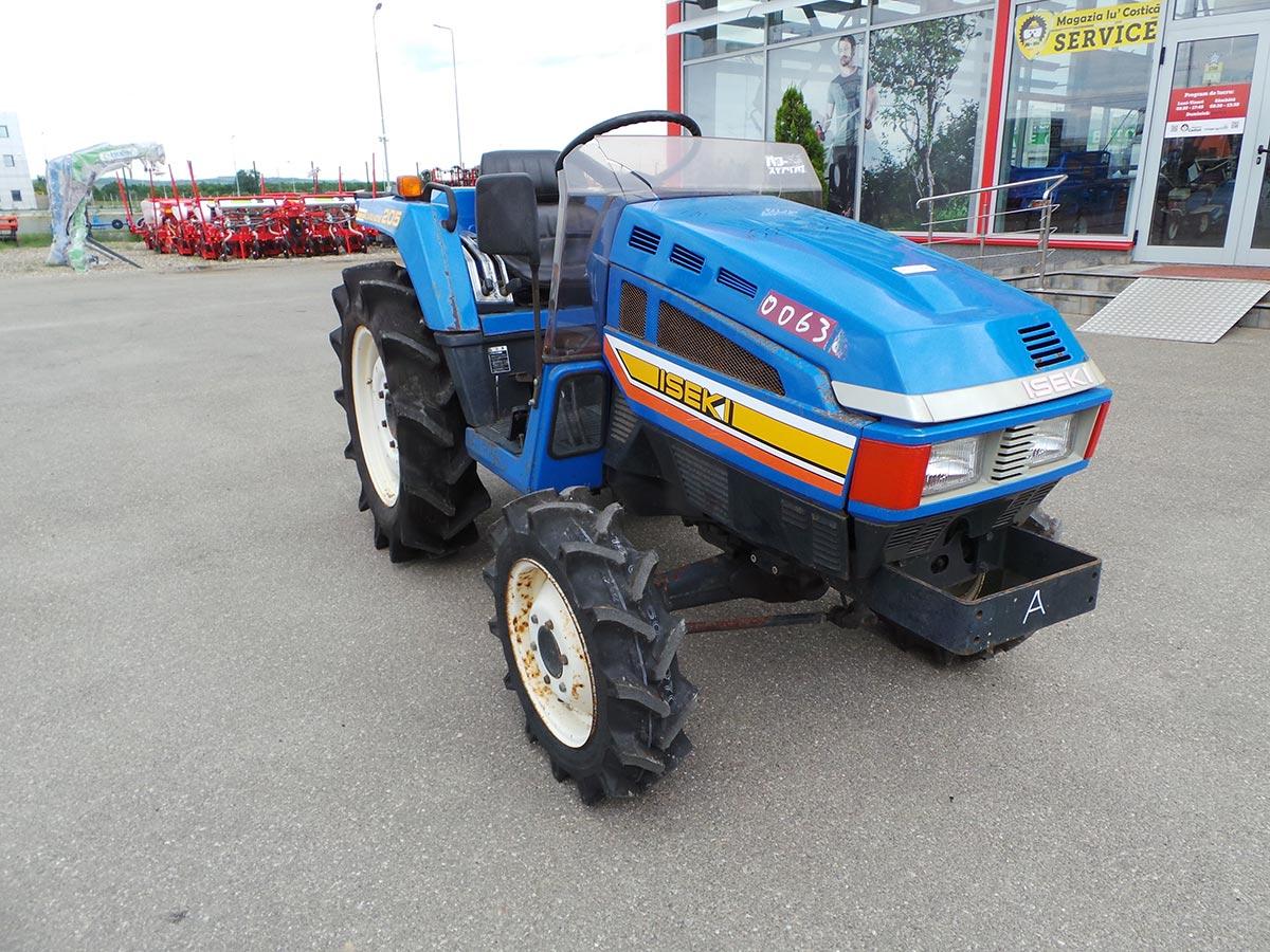 Tractor Second Hand ISEKI TU 205, 20 CP, 4x4