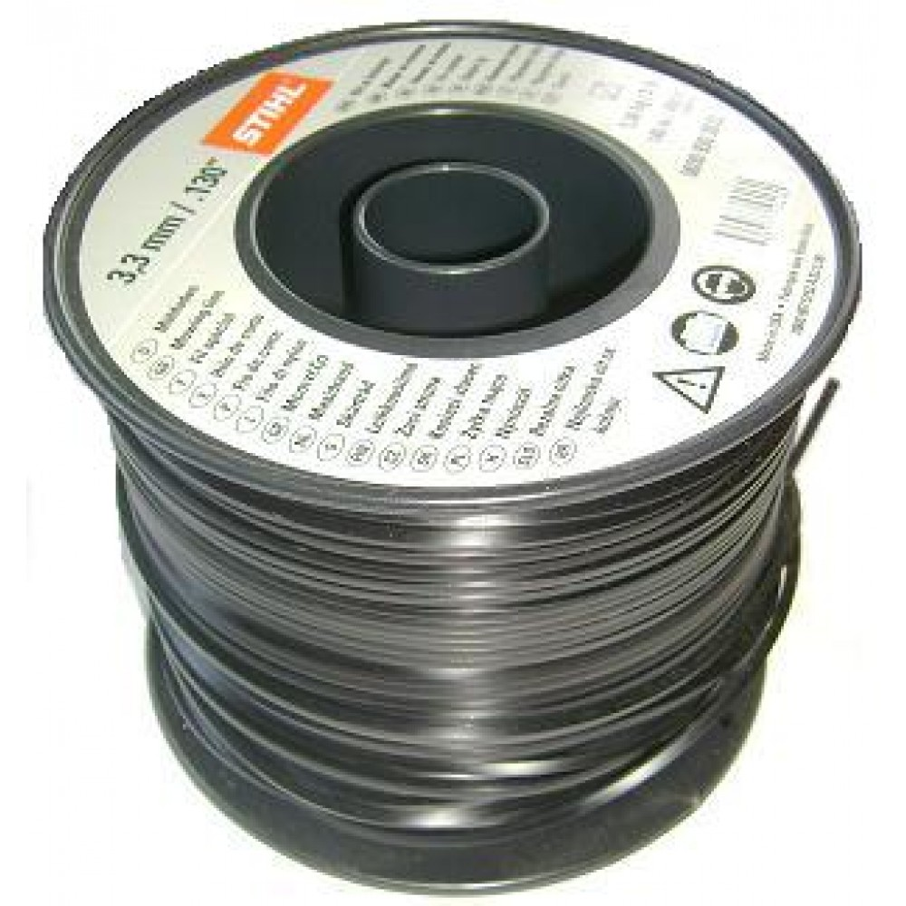 Fir silentios nylon rotund 3.3mm x 591m Stihl