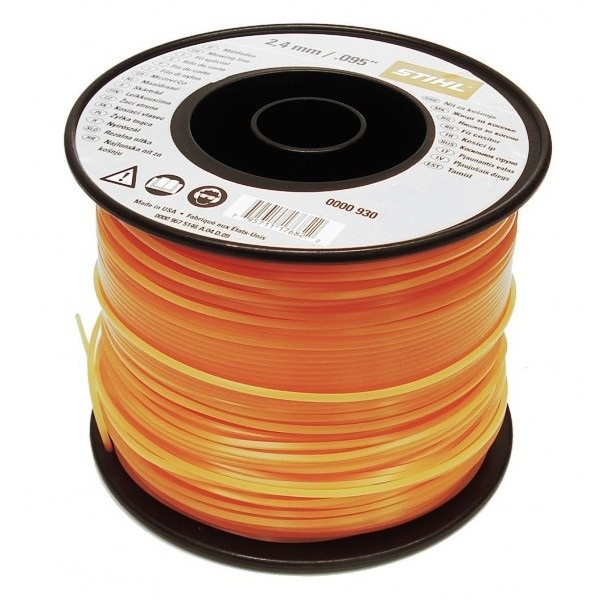 Fir silentios nylon rotund 2.4mm x 261m Stihl