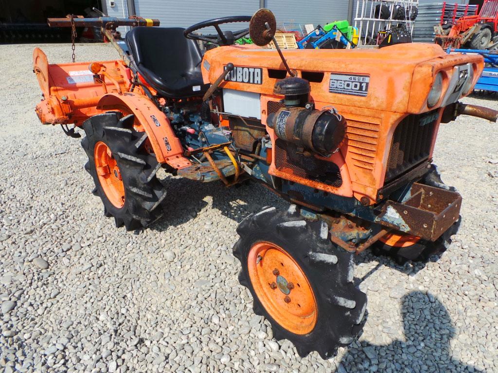 Tractor Second Hand KUBOTA B 6001, 14 CP, 4x4