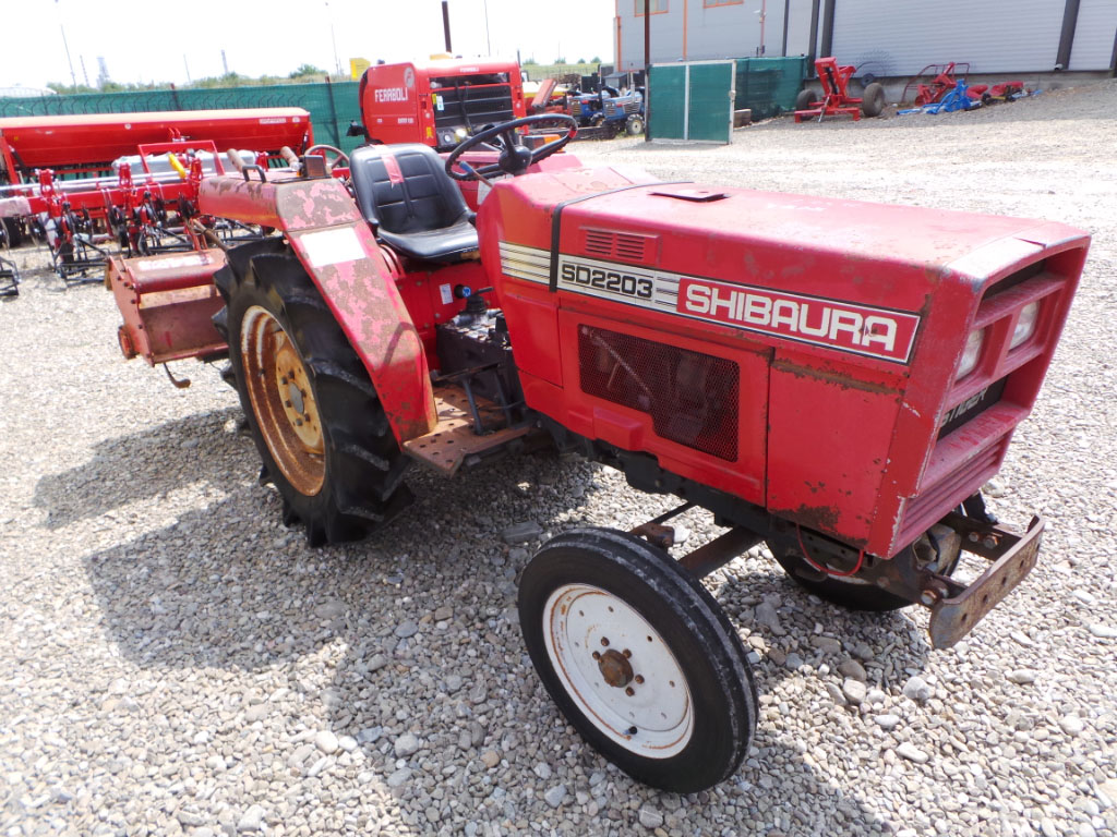 Tractor Second Hand Shibaura SD 2203, 22 CP, 4x2
