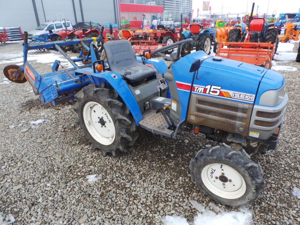 Tractor Second Hand ISEKI TM 15, 15 CP, 4x4