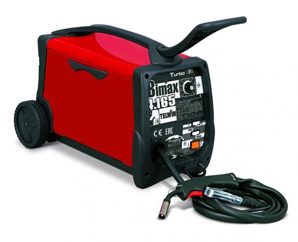 BIMAX 4.165 Turbo - Aparat pentru sudura MIG-MAG 145A TELWIN