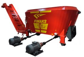 Mixer stationar Fimaks model FMVS 16, 16 m3