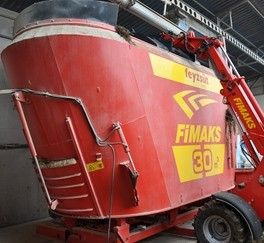 Mixer stationar Fimaks model FMVS 30, 30 m3