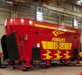 Mixer stationar Fimaks model FMVS 50, 50 m3