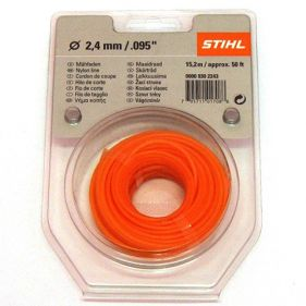 Fir nylon rotund 2.4 mm x 15.2m Stihl