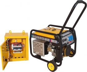 Stager FD 3600E+ATS - Generator open frame