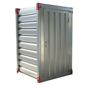 Container cu fereastra (WC) cu usa simpla in lateral, 1.260m x 1.300m