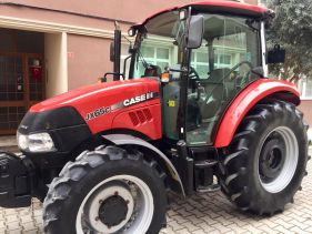 Tractor second hand CASE IH JX 65, an 2014, 930 ore functionare, AC