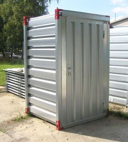 Container cu usa simpla in lateral, 1,260m x 1,375m