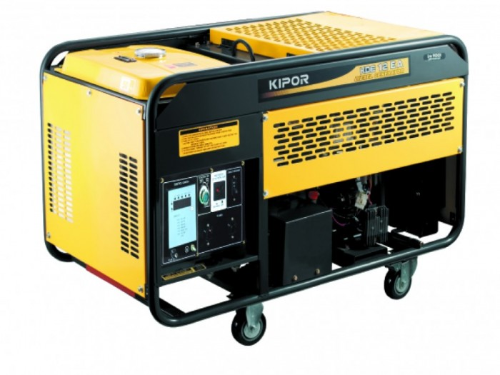 Kipor KDE 12 EA, Generator curent electric