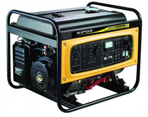 Kipor KGE 4000 X/E, Generator curent electric