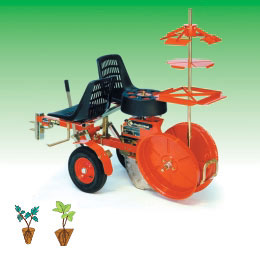 Masina de plantat radaduri pe un singur rand model Minifox special