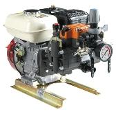 Unitate motopompa Comet MTP MP 30, Benzina Honda GC 160, fara suport