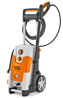 Stihl RE 163, Curatator