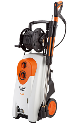 Stihl RE 281 PLUS, Curatator
