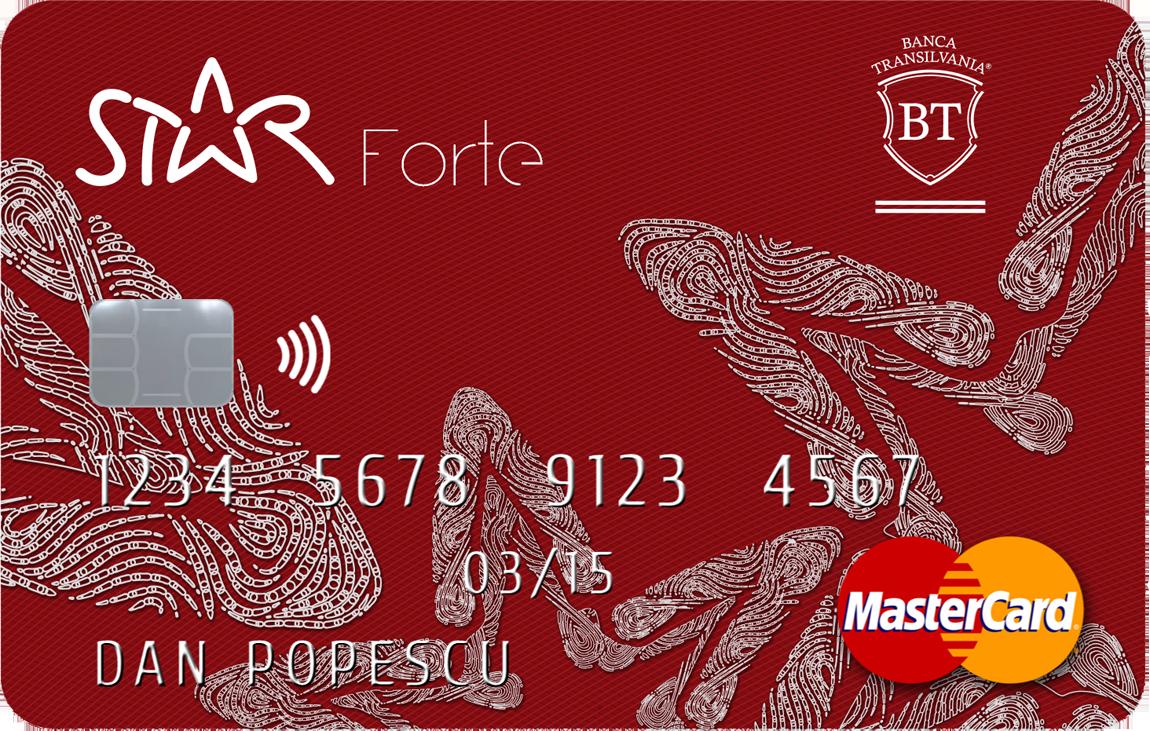 Card Star Forte de la Banca Transilvania