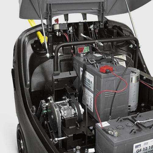 Masina de maturat - aspirat KM 85/50 W G Adv: Cadru rotativ cu doi pereti.