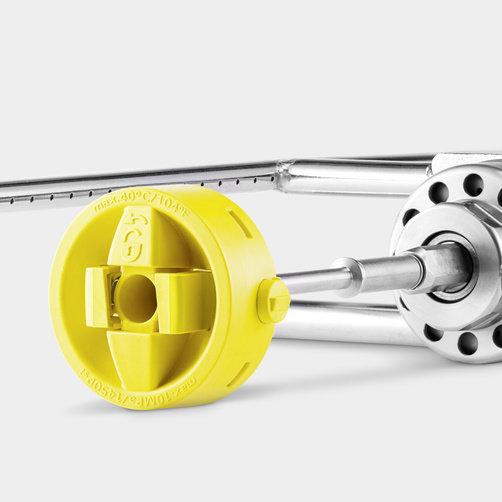 Transmisie completa pentru perii: Actionare hidraulica pentru periile cilindrice rotative