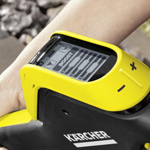 Aparat de spalat cu presiune K 5 Premium Smart Control: Modul Boost pentru putere suplimentara pentru a combate murdaria
