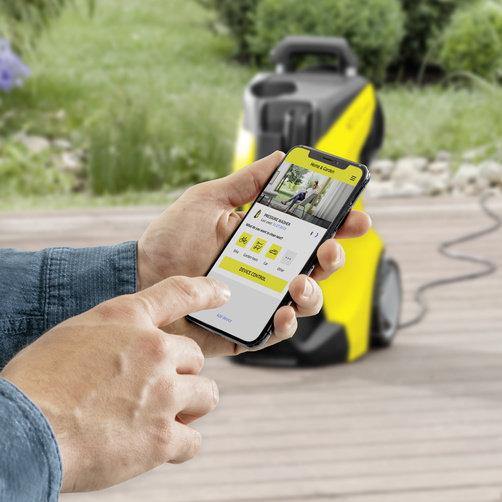 Aparat de spalat cu presiune K 5 Premium Smart Control: Conexiune Bluetooth pentru aplicatia Home & Garden