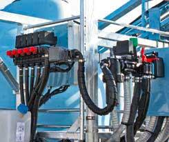Dispozitiv de control electronic cu 5 cai cu regulator de presiune electric
