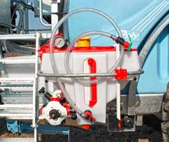 Mixer rapid – 35 litrii cu regulator de presiune si cutii de curatare