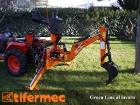 Retroexcavator Tifermec model Greenline, 13-15 CP
