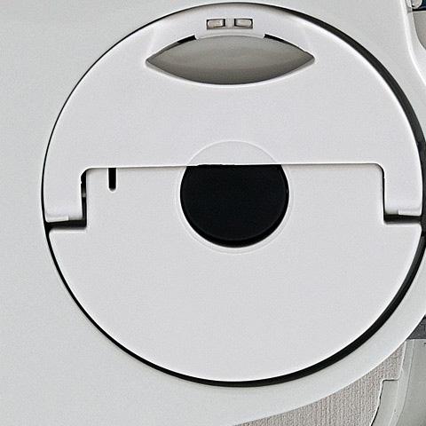 Dispozitiv pentru intinderea lantului amplasat lateral