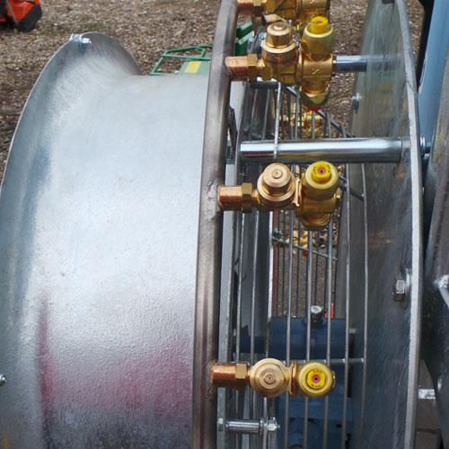 Carcasa ventilator zincat la cald