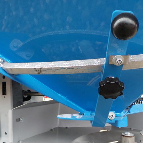 Mecanism de ajustare a dozajului cu scala de aluminiu
