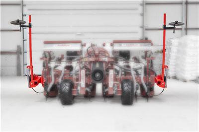 : Sistem cu marcator dublu hydraulic