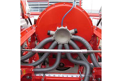 Ventilator silentios, aerul absorbit este furnizat la o presiune constanta